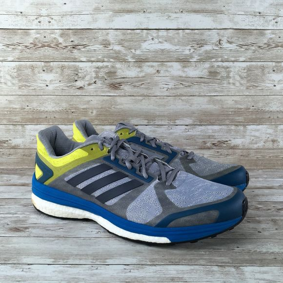 Adidas Supernova Sequence 9 Mens 12 Gray Blue